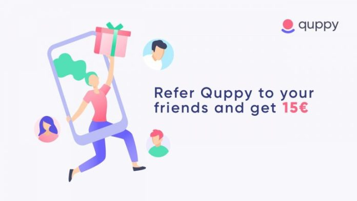 Quppy Users Are Offered a Referral Program