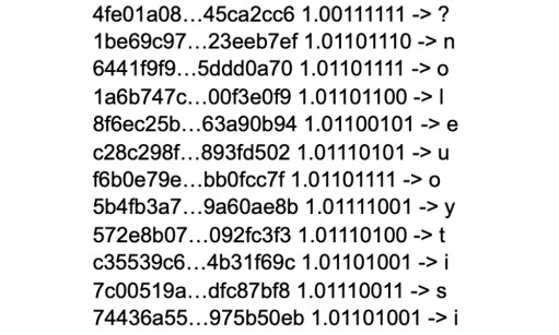 A mysterious address with $3 billion in Dogecoin sent an encrypted binary message to Elon Musk