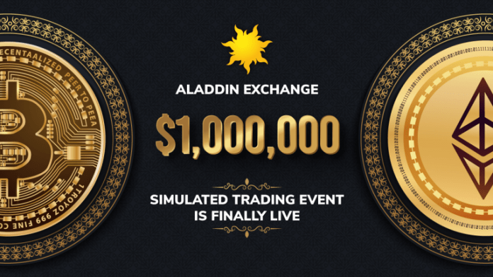 The $1,000,000 Aladdin Exchange Event Is Online