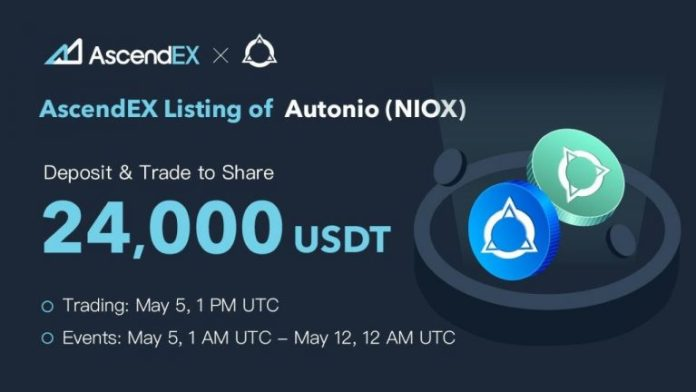 Autonio Listing on AscendEX