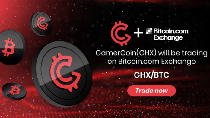 GamerHash (GHX) Token Is Now Listed on Bitcoin.com Exchange
