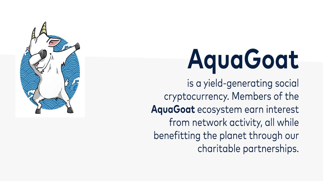 AquaGoat: Saving the Oceans One EcoCoin at a Time