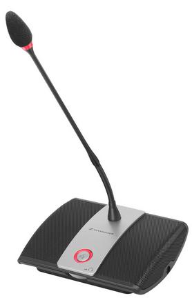 Sennheiser: base microfonica delegato