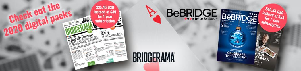 Schauen Sie sich die digitalen Pakete von Be . 2020 anBRIDGE . BridgeRama- Magazine!