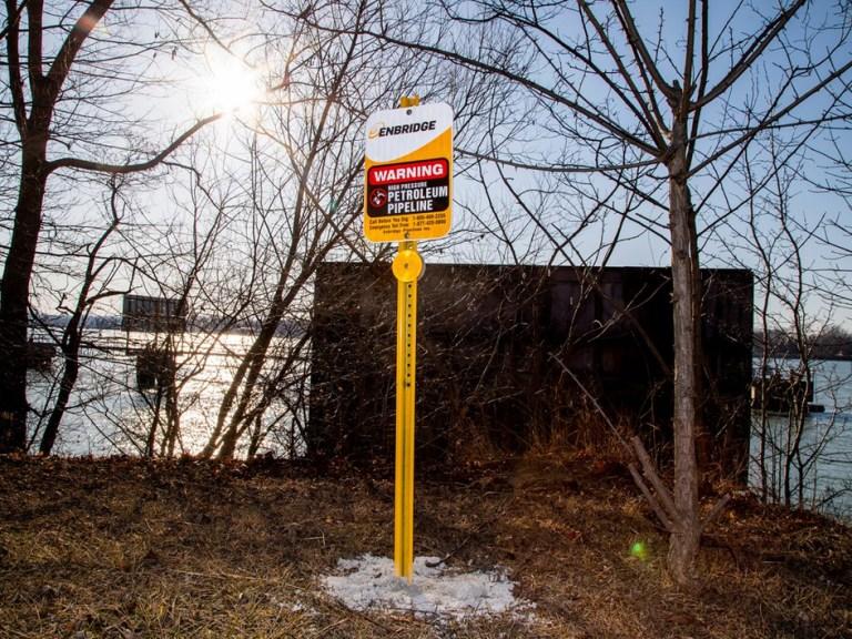 Enbridge to Biden: Line 5 tunnel under Lake Michigan is building back better