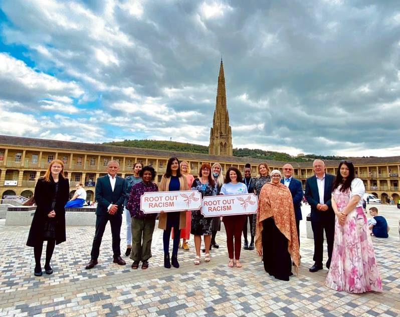 Root out Racism movement launch in Calderdale