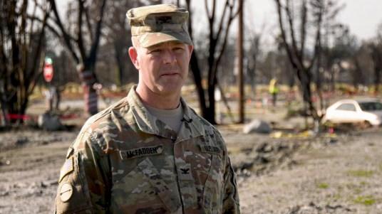 Colonel Eric McFadden