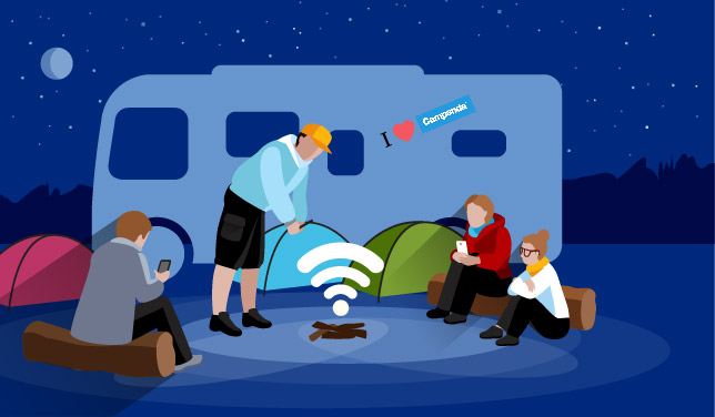 Internet vs. RVs: Getting unlimited connectivity on the road for free