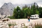 Romantischer Urlaub im Camper