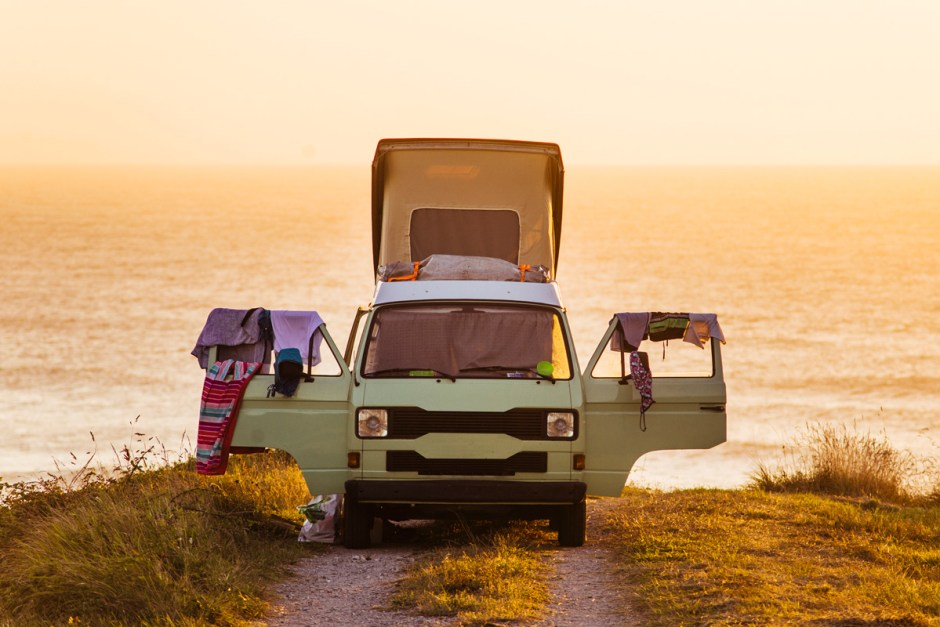 Camping am Meer