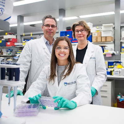 Breast cancer researchers at WEHI