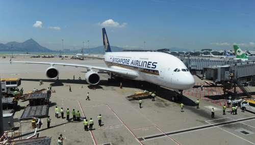 圖片 新航A380七月新加坡至香港航線機票售出95%_民航新聞_民航資源網
