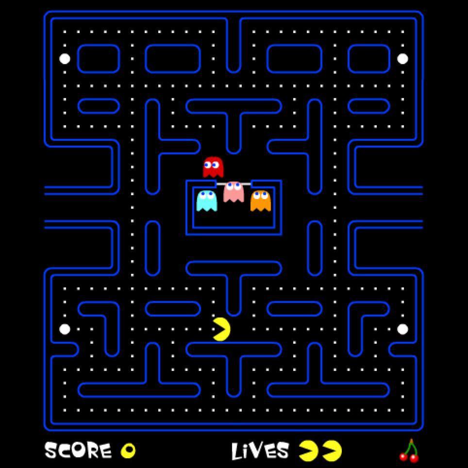 ¿Lo sabías? Pac Man no tenía pausa, pero sí un escondite