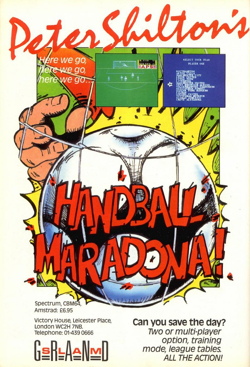 Peter Shilton's Handball Maradona (1986)