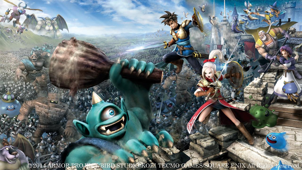 ¡Gameplay de  Dragon Quest: Heroes!