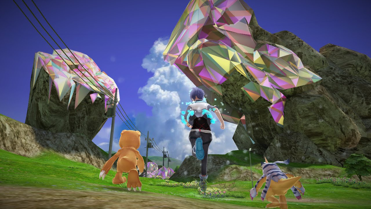 Gameplay de Digimon World: Next Order