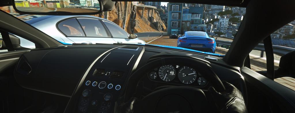 ¡Gameplay de Driveclub VR!