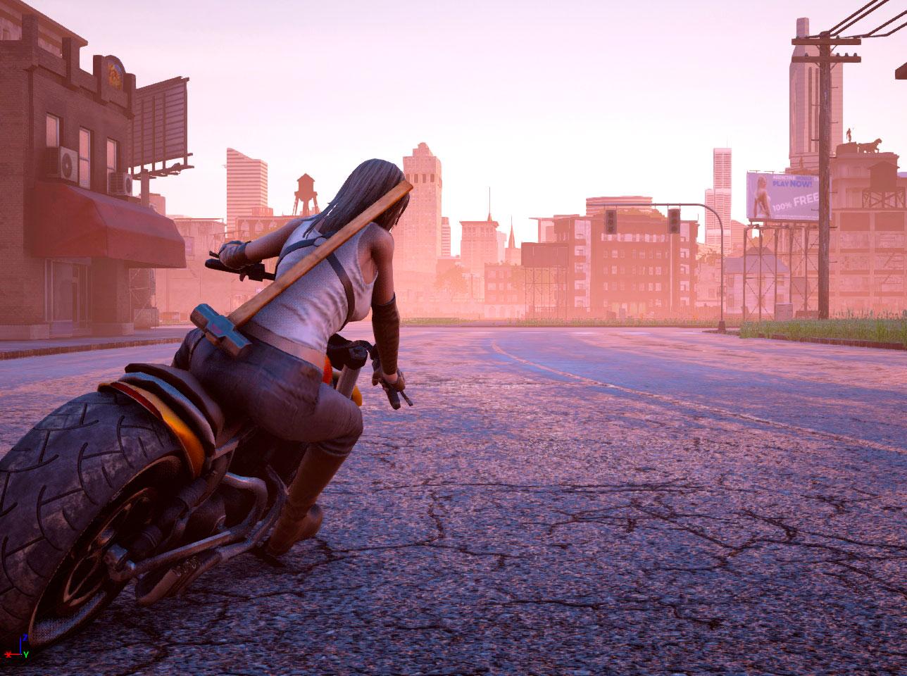 El mundo abierto de Road Rage en nuevo trailer