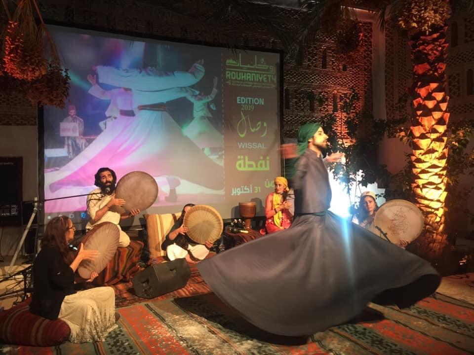 هيئة المهرجان الدولي للموسيقى الصوفية روحانيات بنفطة