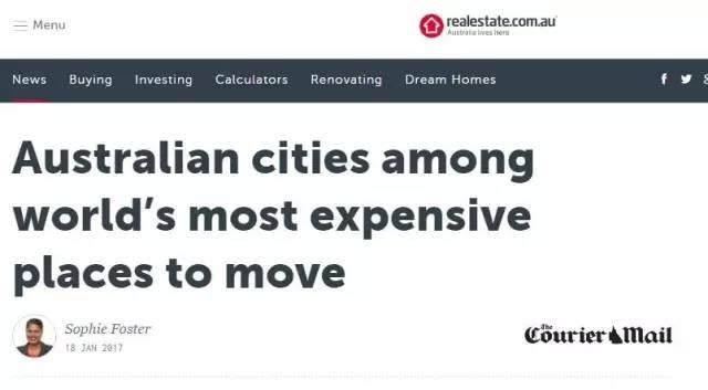 悉尼、墨尔本进入全球定居最贵城市之列!首月花费近3000澳元!-澳洲唐人街