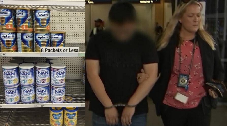 太不要脸了!悉尼华人被抄家,澳大利亚媒体通报!为了钱,一家4口都当小偷到超市偷奶粉……