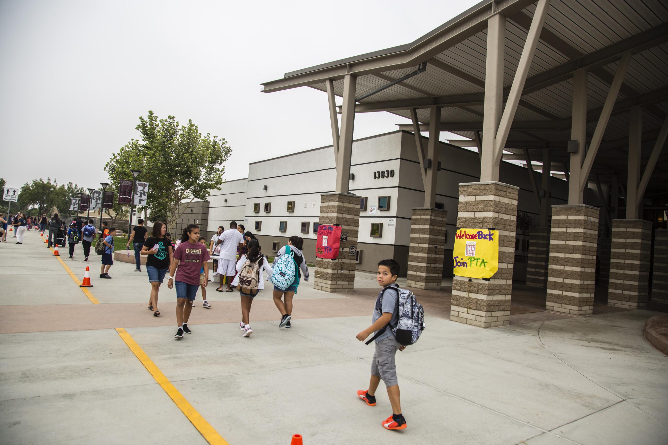 Elementary Schools In Eastvale Start School Year