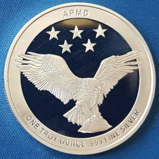 PNG APMD silver round obverse