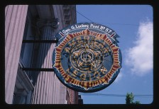 The American Legion emblem is visible in thousands of communities across the nation. (John Margolies Roadside America photograph archive [1972–2008], Library of Congress, Prints and Photographs Division)