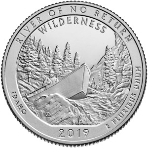 2019 America The Beautiful Quarters - River Of No Return Wilderness - Idaho