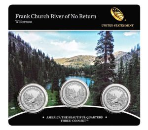 Frank Church River of No Return Wilderness 3-coin set