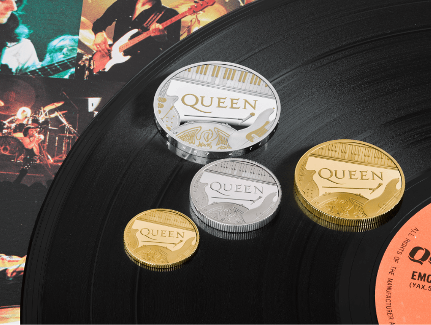 Royal Mint Mint's Queen Coins