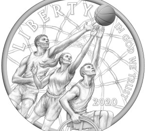 Naismith Memorial Basketball Hall of Fame Commemorative coin