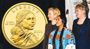 Sacagawea Dollar Unveiled