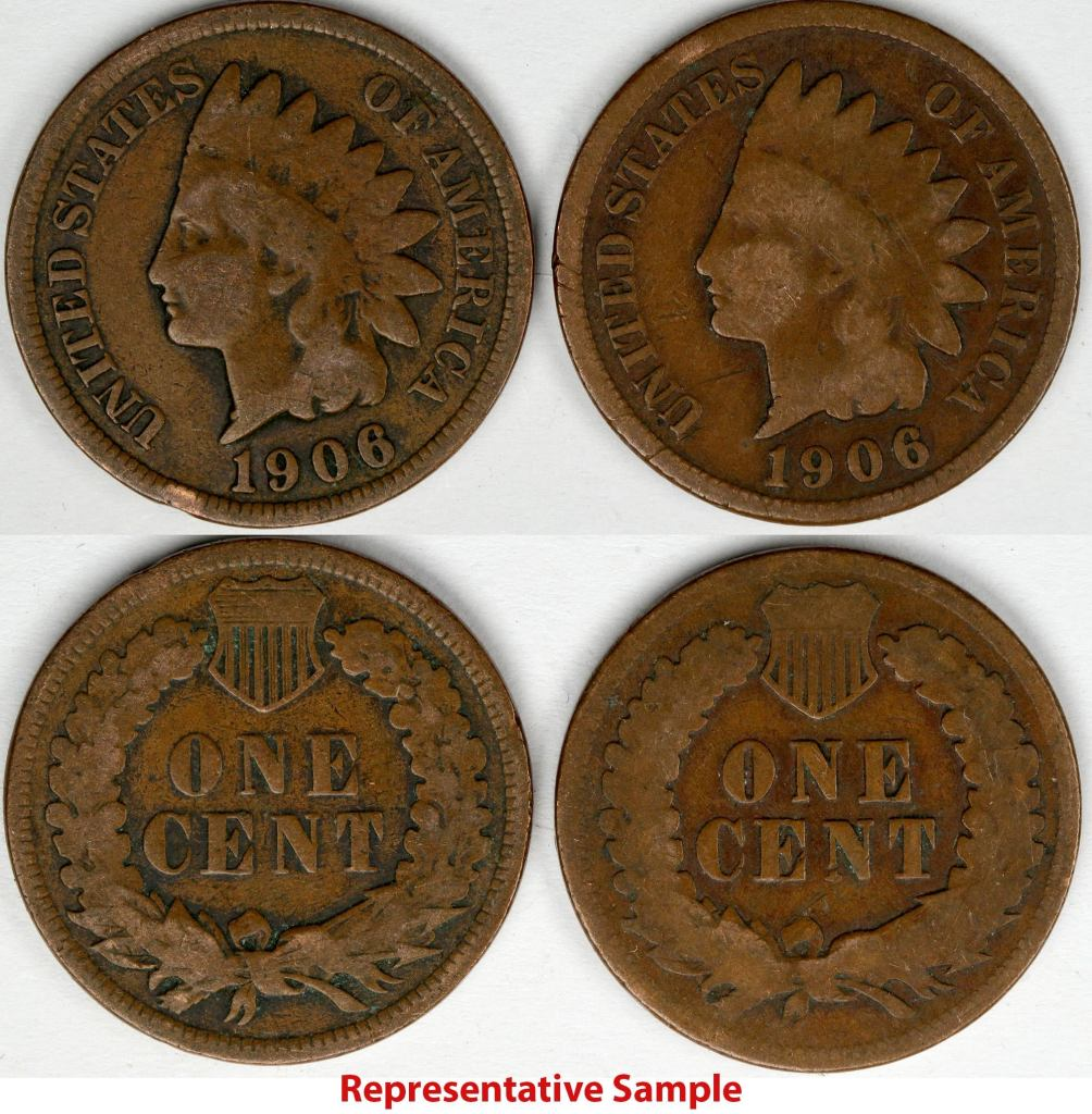 Indian Head pennies