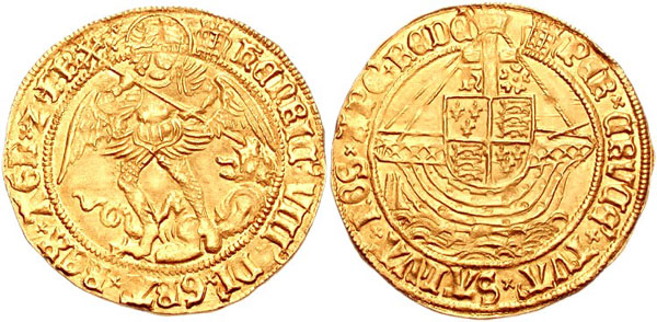 Henry-VIII-angel-coin