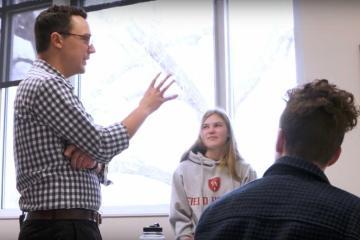 Upper School English Teacher, Ross Holland, on 'Why I Teach'