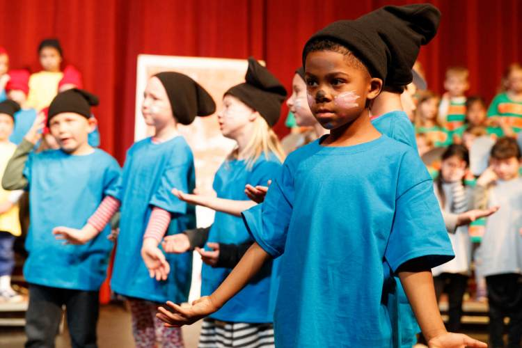 2018 May 03: Kindergarten and 1st grade musical at Colorado Academy in Denver, CO. Trevor Brown, Jr./Trevor Brown Photography