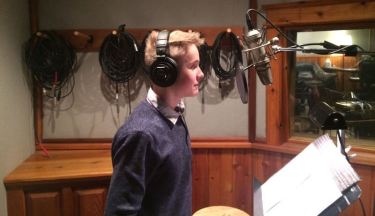 Riley Barthels recorded a podcast about his family's history at Rocky Mountain Recorders.