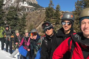 Ouray Ice Climbing trip