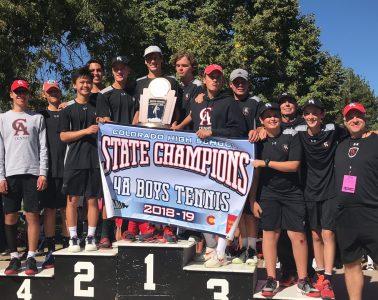 CA Boys Varsity Tennis takes state