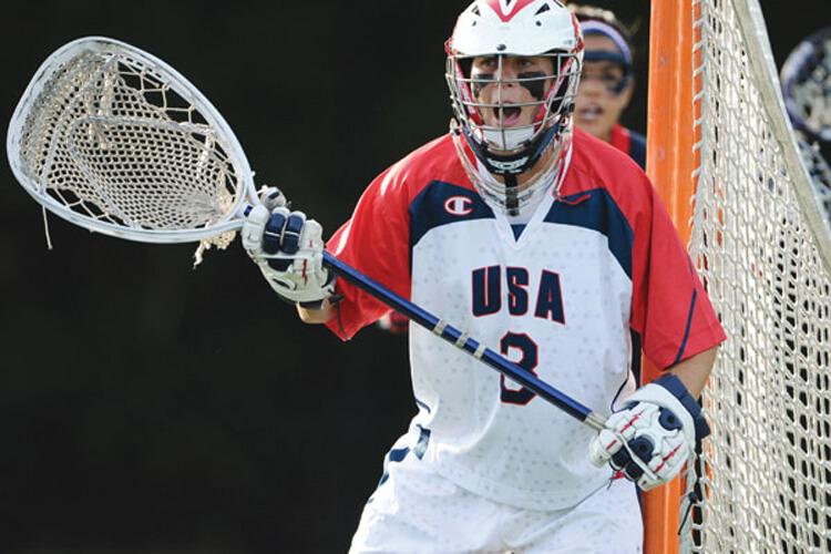 Devon Wills in the goal
