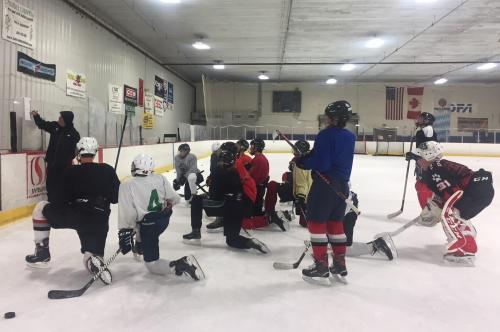 CA Hockey training