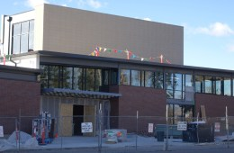 CA's new Athletic Center will open on February 6.