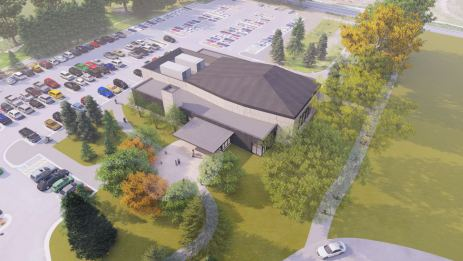 Colorado Academy Leach Center for the Performing Arts rendering