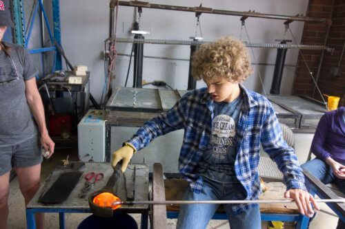 The Wonderful World of Glassblowing