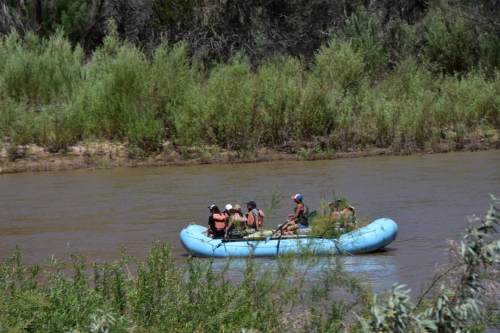 Raft the Colorado