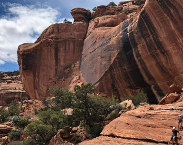 Dr. Mike Davis led an Upper School Interim trip to Bears Ears National Monument last year.