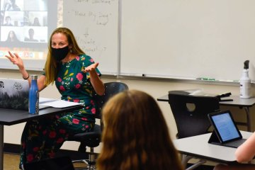 Upper School History Teacher Liz Sarles