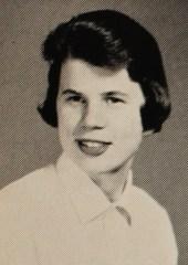 Janet Reno yearbook photo