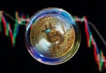курс Bitcoin падает